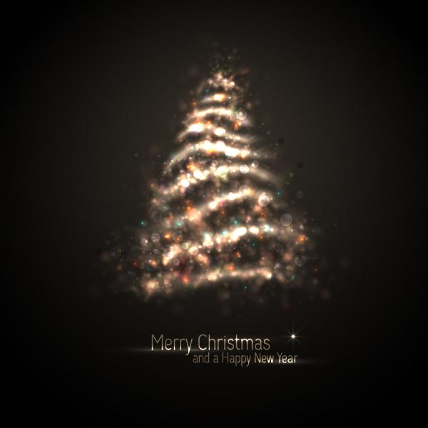 幻想的な光で描くクリスマスツリー exquisite halo christmas tree