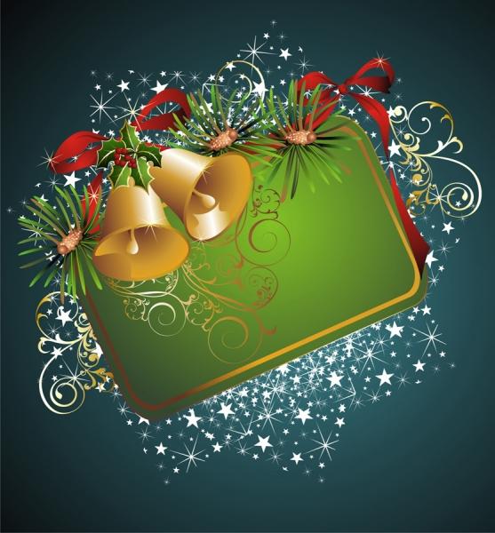 美しく輝くクリスマス飾りのフレーム beautiful christmas border background