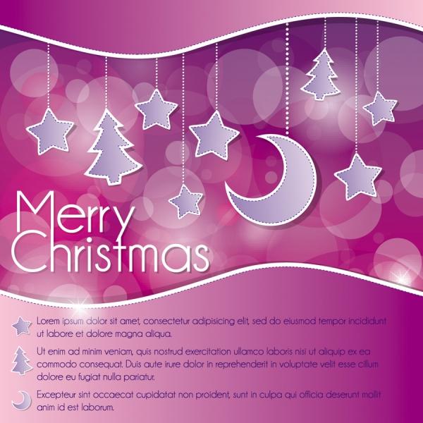 クリスマス飾りを吊り下げた背景 christmas decoration background