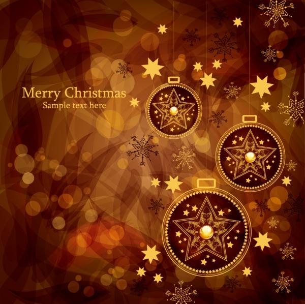 茶系統のゴージャスなクリスマス飾りの背景 christmas gorgeous brown background