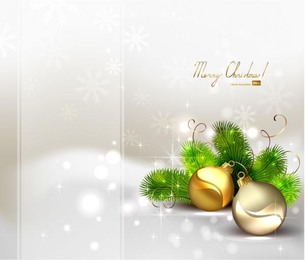 輝くクリスマスボールの背景 beautiful christmas ball background