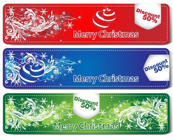 美しくデザインされたクリスマス飾りのラベル beautiful christmas labels gift card
