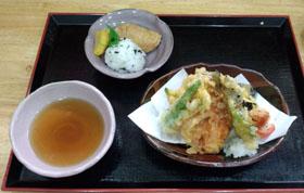 天ぷら&御飯物