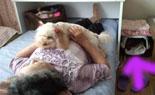 母と昼寝3