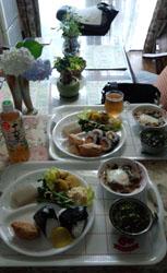 お昼ご飯!
