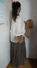 ワンピ→スカート2