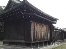 野田神社野外能楽堂