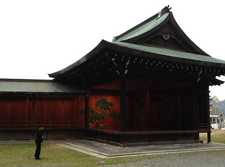 野田神社能楽堂