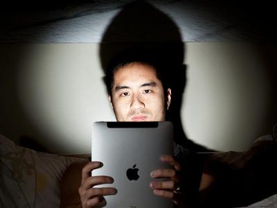 寝る前 パソコン