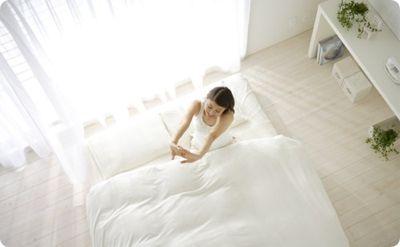 快眠できる寝室