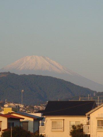 11月1日の富士山
