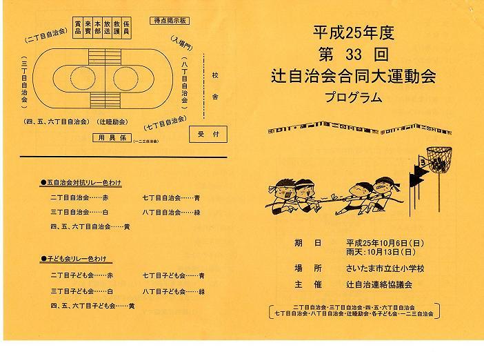 2013運動会プログラム1