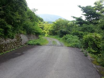 20130608白銀林道入り口