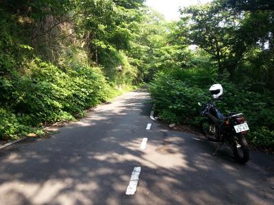20130608白銀林道舗装路