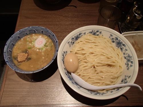 ソラマチ六厘舎 味玉つけ麺_convert_20131025133127
