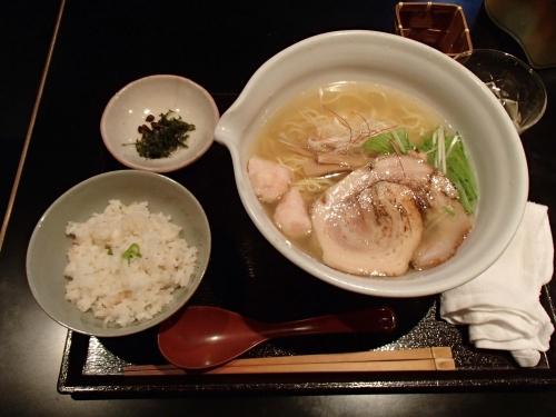 銀笹 塩ラーメン+半鯛めし_convert_20131025133435