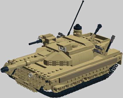 M1A2ゲリュオン(砂漠地塗装)