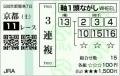 2013 京阪杯 3連複