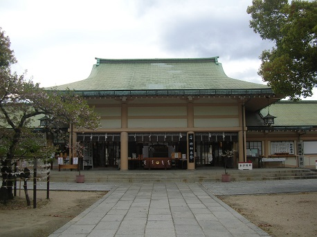 生国魂神社-1