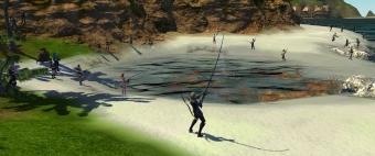 釣りイベ最終日