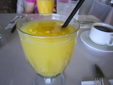 美味しいオレンジジュース