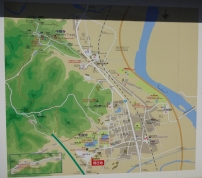 9:38 駐車場にあった地図