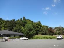 10:22 金鶏山は平泉文化遺産センターの裏辺りのようです。