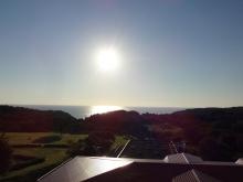 6:22 部屋から見た日の出