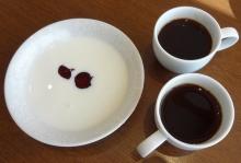 7:17 二人分のコーヒーと、ヨーグルトは私の分。