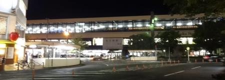 21:44 JR盛岡駅