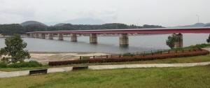 10:21 御所湖のつなぎ大橋