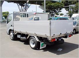アルミブロックのトラック