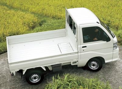 軽トラックの荷台