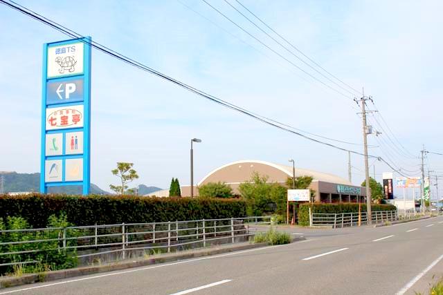徳島トラックステーションの外観1