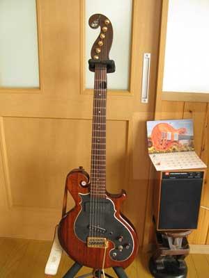 ギターカレンダー作製-1