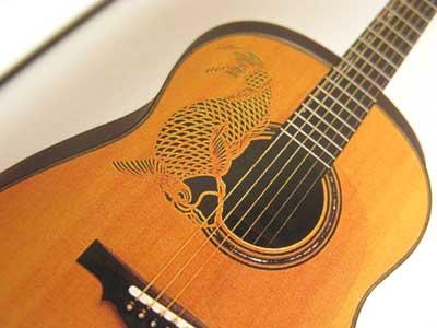 アールヌーボーギター17