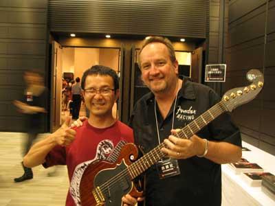 ねこギターTシャツ-6