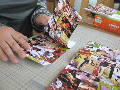 写真集の製本4-8