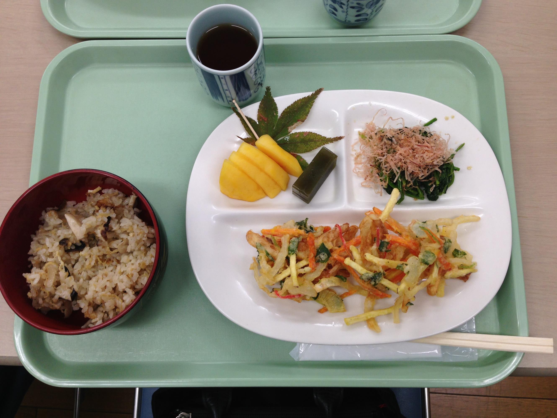 10月の食事サービス