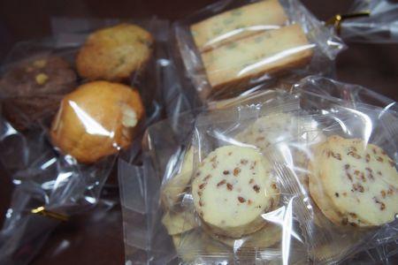 買った焼き菓子