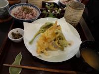 「山菜天ぷら」