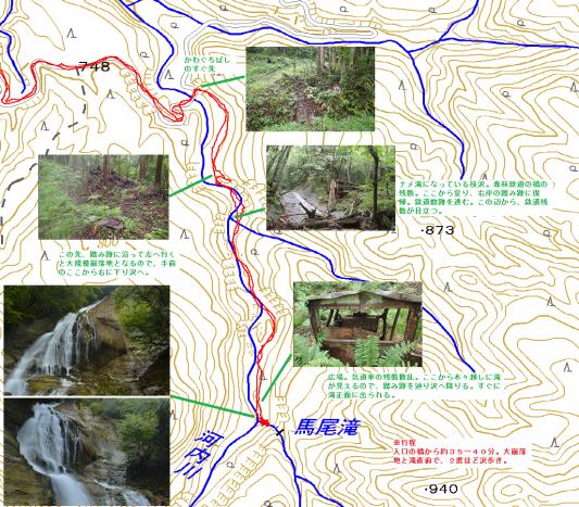 馬尾滝(天栄村)
