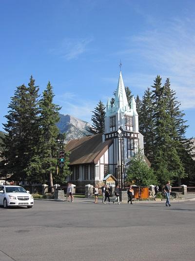バンフの教会