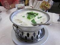 トムカーガイスープ(ココナッツチキンスープ)