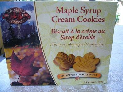 メイプルシロップクッキー