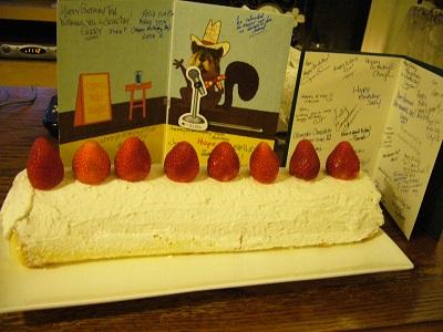 誕生日ケーキ T氏