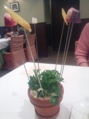口なおしの野菜