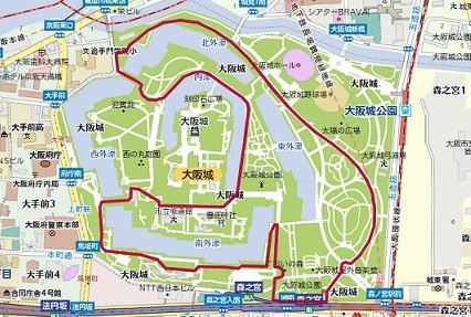 大阪城公園コース