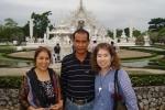 白い寺院。