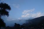 迫る濃霧・・・